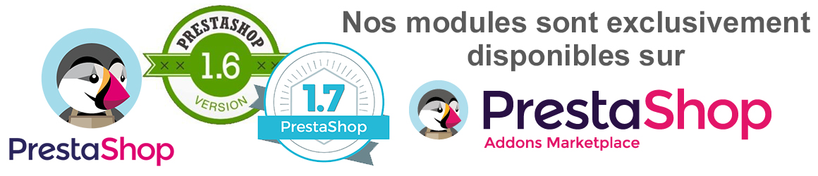Modules Prestashop 1.6 et 1.7